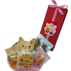 卒園入園おめでとうギフト【動物クッキーお祝焼き菓子ギフト】【入園おめでとうクッキーギフト】