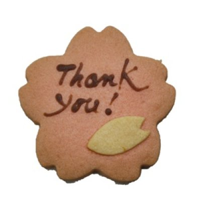 画像1: さくらサンキュークッキー【お礼プチギフト】 (1)