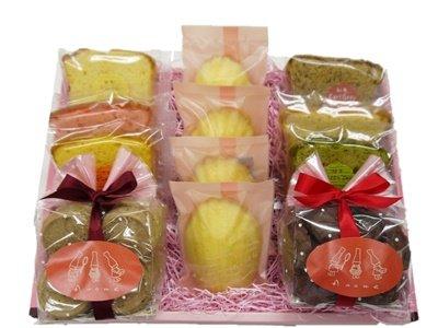 画像1: 焼き菓子ギフト (10個+クッキー2種入り) (1)