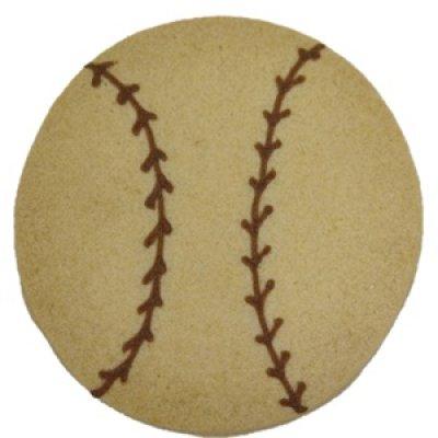 画像1: 野球ボールクッキー (1)