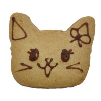 画像1: ネコのみーちゃんクッキー【ネコのクッキー】【アニマルクッキー】 (1)
