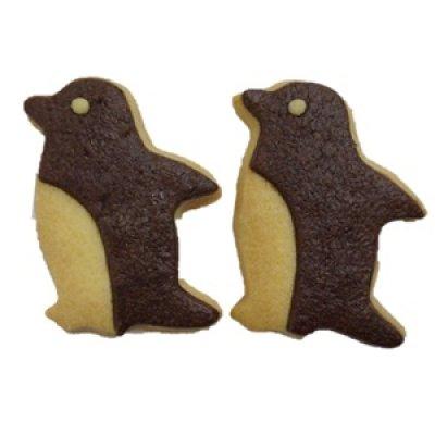 画像1: ペンギンクッキー【アニマルクッキー】 (1)