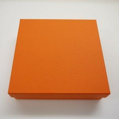 画像1: オレンジギフトBOX-D4(リボン付) (1)