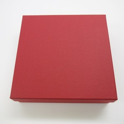 画像1: レッドギフトBOX-D4(リボン付) (1)