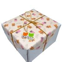 画像1: ライオンクッキー付き苺ムースケーキ【お誕生日プレゼント】